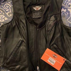 Women's Large Harley Davidson Vest